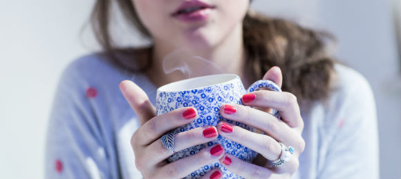 暖かい飲み物